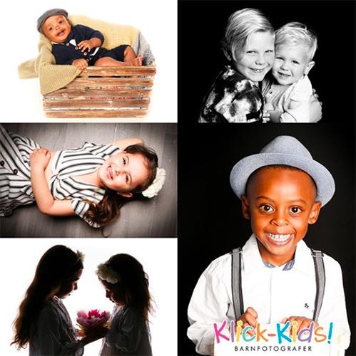 Barnfotografering i Liljeholmstorgets Galleria med Klick-Kids! Barnfotografer